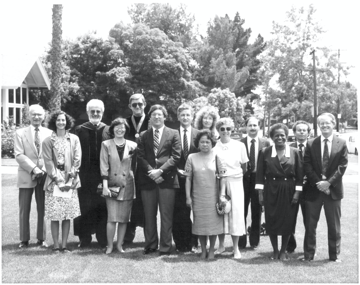 Old photo of the SPH Faculty