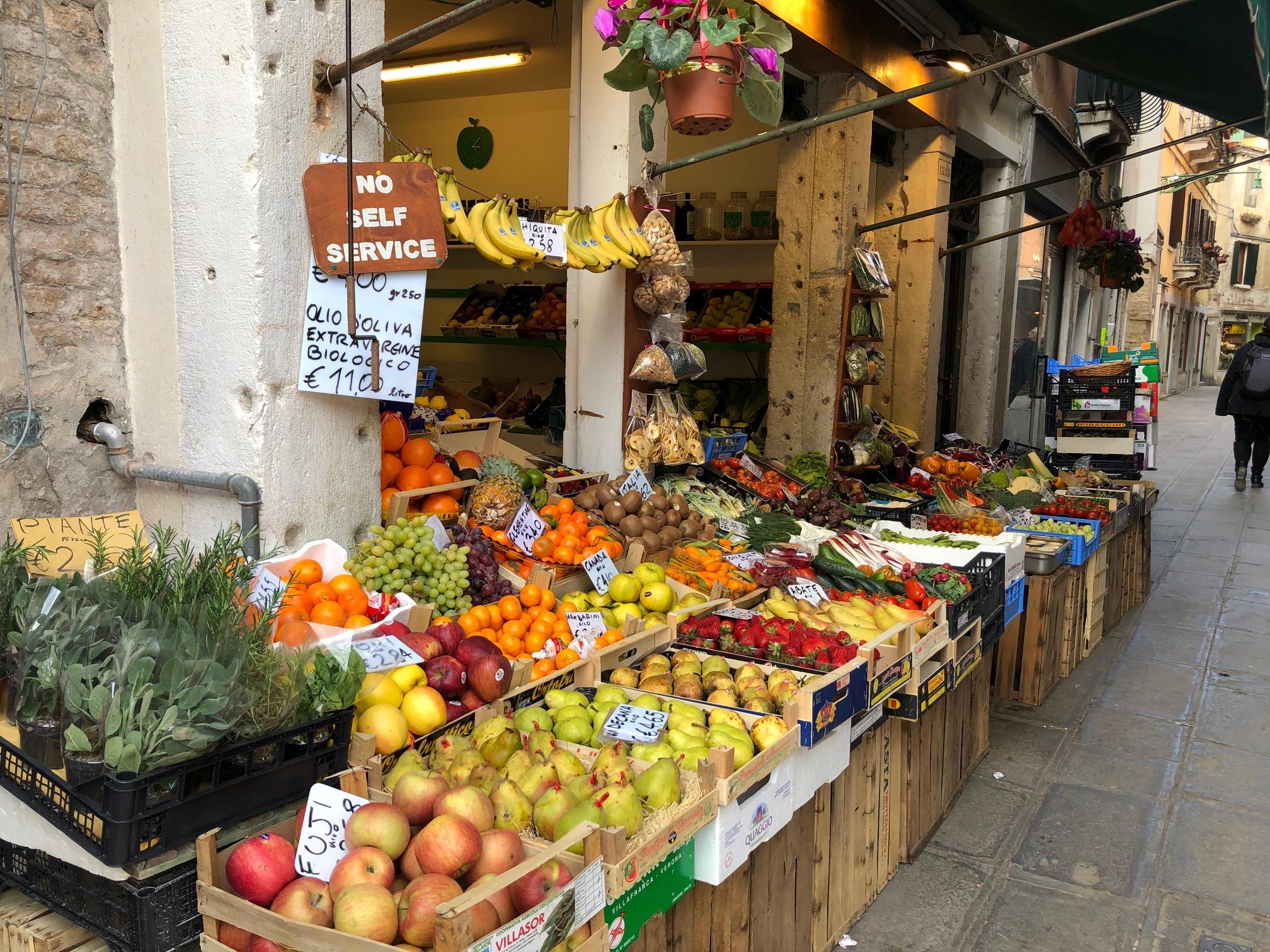 Market in Spain