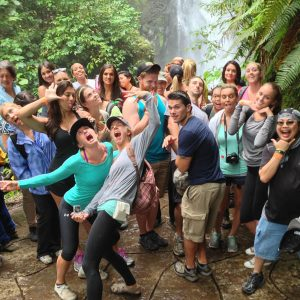 our HHS 350 students in Costa Rica