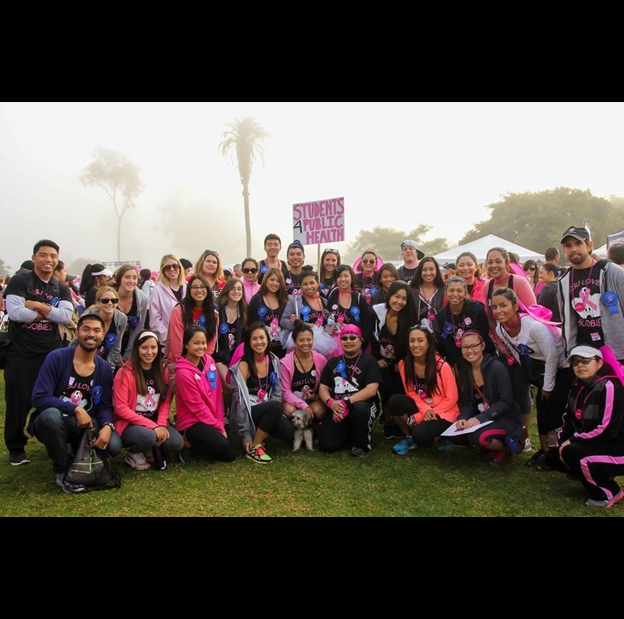 Students4Public Health Makes Strides Against Breast Cancer