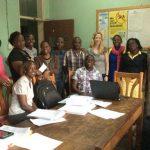 Susan Kiene in Uganda