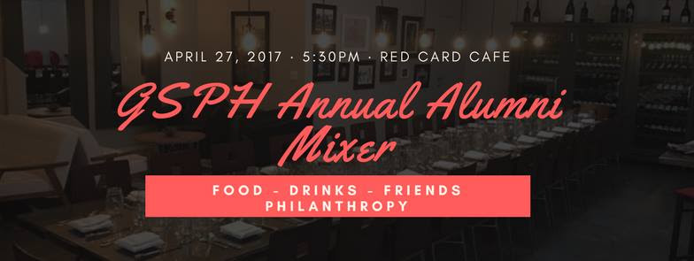 April 27, 2017 – 2nd Annual Alumni Mixer at Red Card Cafe!