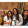 "Students 4 Public Health Wins ""Most Money Raised"" Award for Making Strides Against Breast Cancer."