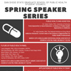 You are invited to the 2018 Spring Speaker Series!
