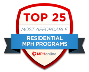 Top 25 Most Affordable MPH Prog
