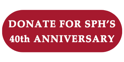 Donate for SPH's 40th Anniversary