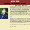 Preview of SPH Spring 2021 Newsletter